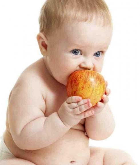 jabuka 490x579 Kašica od kivija i jabuke