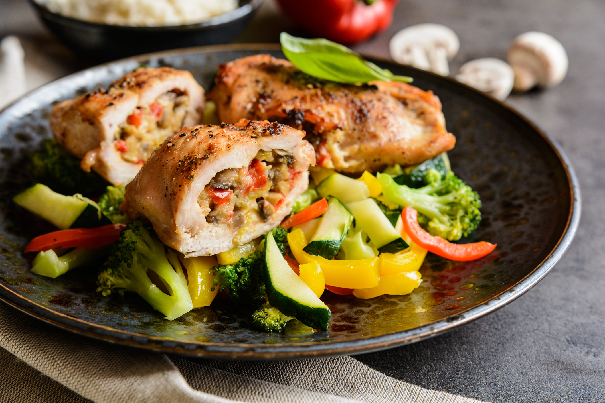 ThinkstockPhotos 621473494 Predlog za ručak: Pileće kuglice s brokolijem