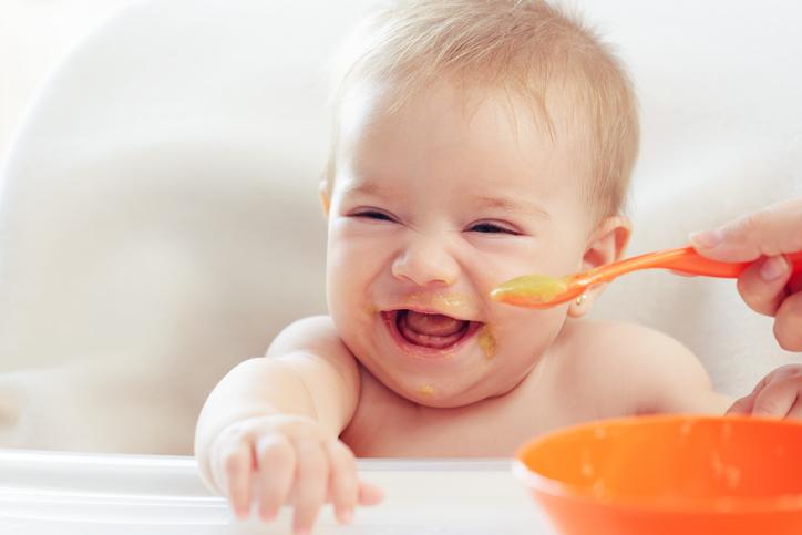 kašica za bebe bogata gvožđem