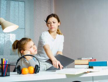 dete neće da radi domaći